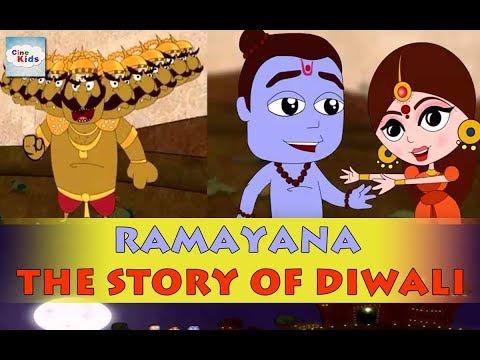 Video CineKids│Ramayana: The Story of Diwali download in MP3, 3GP, MP4, WEBM, AVI, FLV January 2017