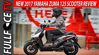 2. 2017 Yamaha Zuma 125 Top Speed and Review