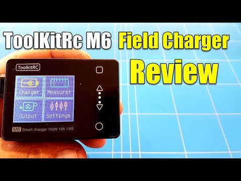 TOOLKITRC M6 LIPO BATTERY CHARGER REVIEW Best Smallest Field Charger At This Moment