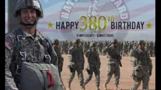 Always Ready. Always There. Happy 380th Birthday To The National Guard