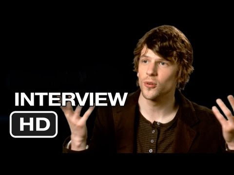 Now You See Me Interview - Jesse Eisenberg (2013) - Morgan Freeman Movie HD Video