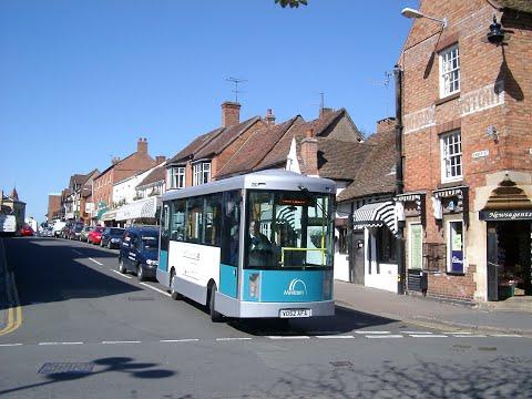 Minitram trial in Stratford upon Avon