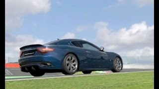Maserati GranTurismo S 2008 -470 Kw-1327 Kg-Testdrive In Spa-SoundDesign-1&Tuned By Morute