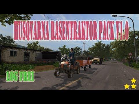 Husqvarna Rasentraktor Pack v1.0