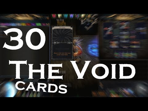 Path of Exile: The Void divination card Gamble - 30 cards