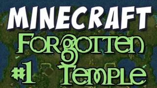 Minecraft - Forgotten Temple Part 1 (Custom Map)