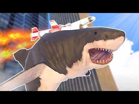 Garrys Mod - SENDING A SHARK TO SPACE? - Mosh Pit Simulator Gameplay - VR Sandbox Game