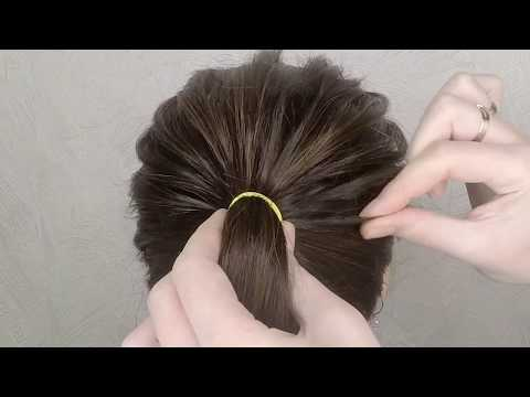 Hairstyles for long hair - Easy Party hairstyle 2019 for girls  New Simple Bridal Hairstyle For Long Hair