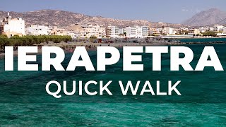 Walk around the city of Ierapetra