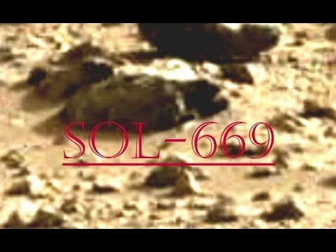 """ WE SEE YOU ""  -  TruthSeeker's Mars Anomaly Research SOL - 669"