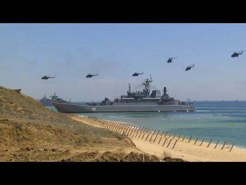 Завершающий этап стратегического командно-штабного учения «Кавказ-2016» - DomaVideo.Ru