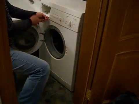 Замена шланга в стиральной машине своими руками