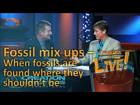Fossil mix ups – When fossils are found where they shouldn't be (Creation Magazine LIVE! 4-16)