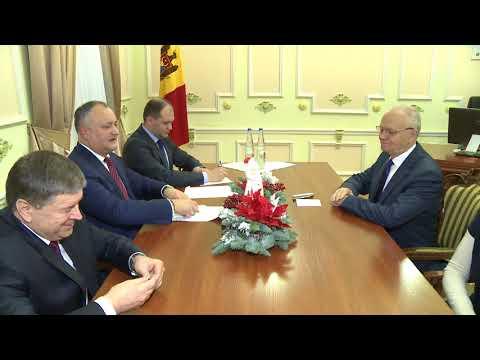 Președintele Republicii Moldova a avut o întrevedere cu Ambasadorul Farit Muhametşin