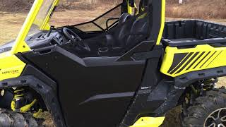 6. Can-Am Defender XMR Half Door Review + Seats