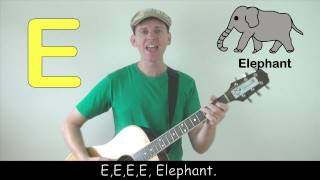 The Letter E Song for Children from Dream English Kids