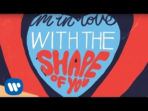 Ed Sheeran - Shape Of You [Official Lyric Video] (видео)