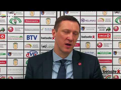 """""""Betsafe–LKL"""" rungtynių komentarai: """"Nevėžis"""" - """"Juventus"""" [2017-12-23]"""