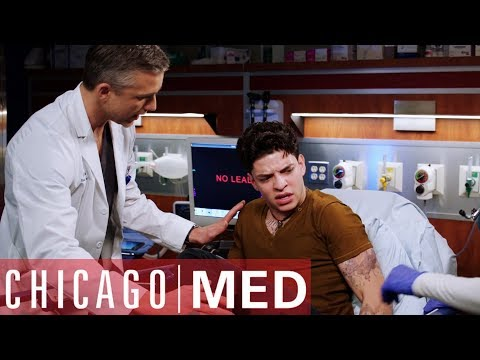 Gun Stuck In The Rear | Chicago Med