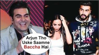 Video Arbaaz Khan FUNNY Reaction On Ex-Wife Malaika Arora's MARRIGE With Arjun Kapoor MP3, 3GP, MP4, WEBM, AVI, FLV Maret 2019