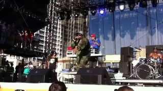 "Big Boi - ""Ms. Jackson"" live at DeLuna Fest 2011"