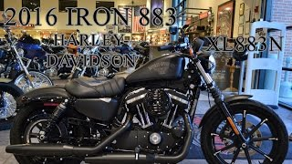 8. 2016 Harley-Davidson Iron 883 (XL883N) VS 2015 Iron 883