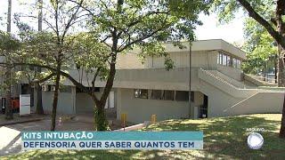 Defensoria questiona DRS de Bauru sobre quantidade de oxigênio e  kits de entubação