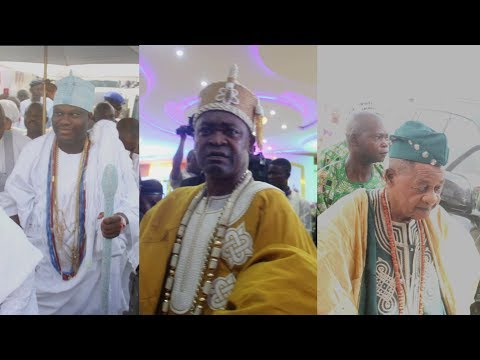 Ooni Aalafin Oyo At Oba Akorede Fatai Akamo As He Roll Out The Drums To Celebrate 15 Years Of Reign