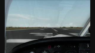 Tamworth Australia  city photo : [HD] FSX - Piper Saratoga - Take off @Tamworth, Australia