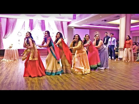 BEST INDIAN WEDDING RECEPTION DANCE/SKIT PERFORMANCE | Bollywood Wedding |By Bride & Groom's Friends