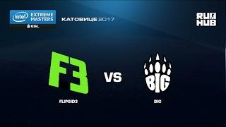 FlipSid3 vs. BIG - IEM Katowice EU - map2 - de_train [ceh9, CrystalMay]