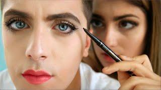 Girlfriend Does Boyfriends Makeup by RCLBeauty101