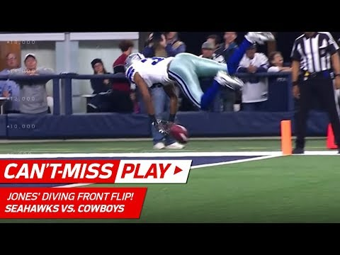 Video: Byron Jones' Diving Front Flip to Pin Punt at the 1-Yd Line! | Can't-Miss Play | NFL Wk 16