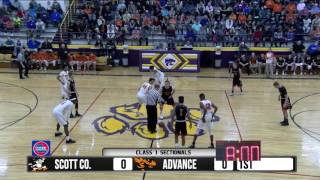 Video 2017 Boys Class 1 Sectionals - Scott Co. Central vs. Advance  2-28-17 MP3, 3GP, MP4, WEBM, AVI, FLV Agustus 2019