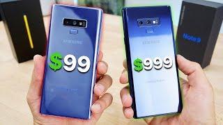Video $99 Fake Samsung Galaxy Note 9 vs $999 Note 9! MP3, 3GP, MP4, WEBM, AVI, FLV September 2018
