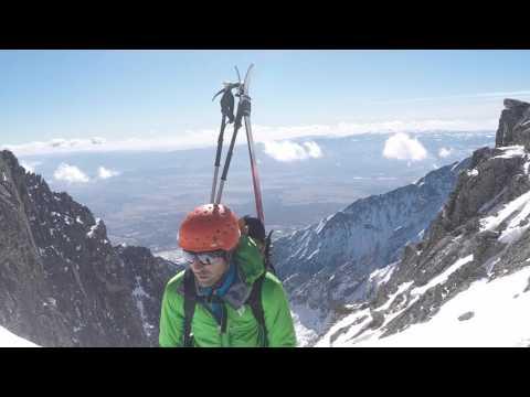 Skialpinistická túra Jordánkou
