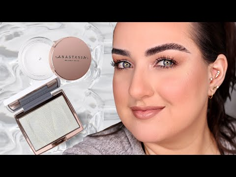 ABH Brow Freeze & Iced Out Highlighter Review! Worth it?