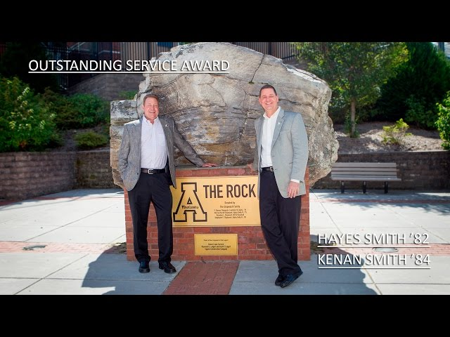 Outstanding Service Award 2016: D. Kenan Smith '84 and E. Hayes Smith '82