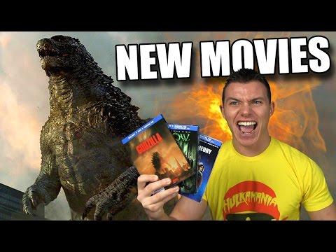 GODZILLA (2014) - New Blu-ray Movies