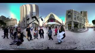 You can see all angles !! 360 video !! Roda de Choro 24h - Virada Cultural 2015