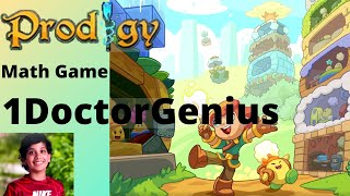 Let's play Prodigy Maths Game with 1DoctorGenius !! Prodigy Maths game play with explanation. I appreciate your watching this ...