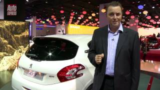 Peugeot 208 GTi at the 2012 Paris Motor Show - Auto Express