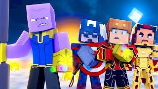 Minecraft Daycare - SAVING IRONMAN FROM THANOS IN AVENGERS ENDGAME! (Minecraft Kids Roleplay)