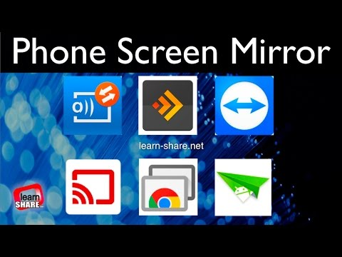 Screen Mirroring Android Apps – How to Share Your Phone Screen With Another SmartPhone