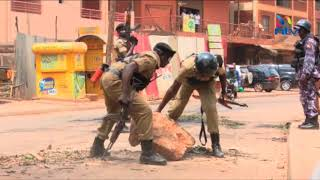 Riots in Kampala and three other towns as Ugandans protest opposition MPs' arrest