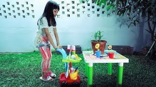 Video Belajar berkebun dengan Garden Play Set Toy MP3, 3GP, MP4, WEBM, AVI, FLV April 2019