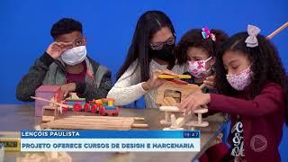 Lençóis Paulista: multinacional abre oficina de marcenaria para comunidade