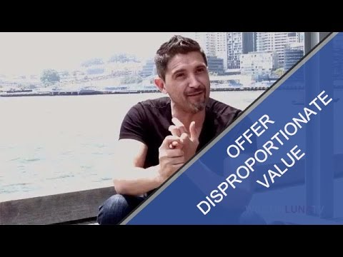 disproportionate - www.wilsonluna.com Internationally acclaimed business consultant explains his basic tenant of business