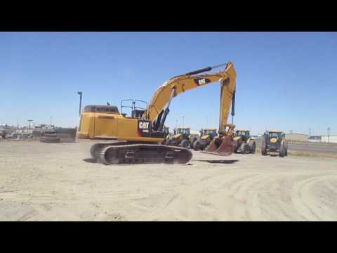 CATERPILLAR TRACK EXCAVATORS 349EL equipment video _diI4kLs2MQ