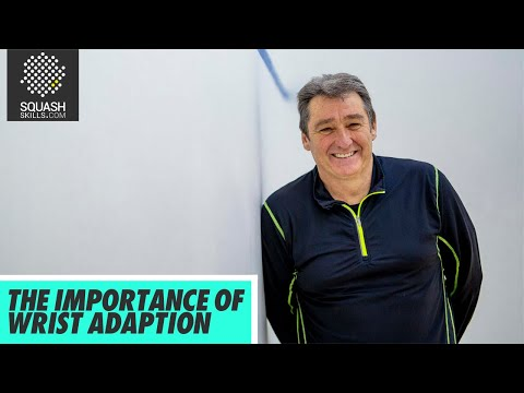 Squash Tips: The Importance Of Wrist Adaption With David Pearson